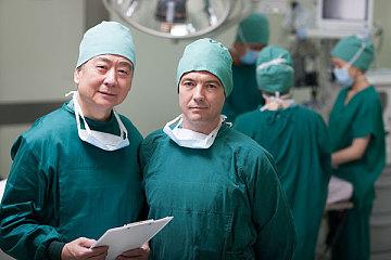 国外医院医生