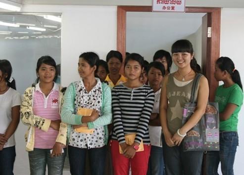 柬埔寨语学校交流翻译