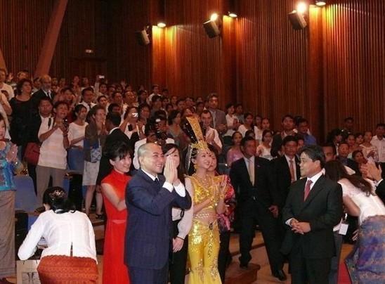 柬埔寨语翻译陪同观看演出