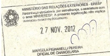 国外无犯罪记录证明文件