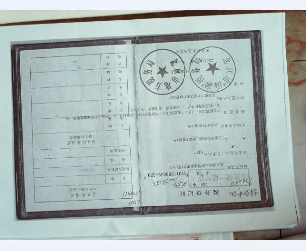 税务登记证翻译样本